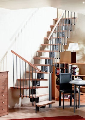 escalier contemporain eureka escalier avec 1 4 tournant gauche ou droit. Black Bedroom Furniture Sets. Home Design Ideas