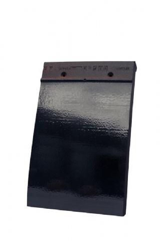 tuile plate 301 noir emaille 738. Black Bedroom Furniture Sets. Home Design Ideas